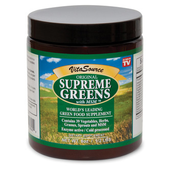 Supreme Greens with MSM Powder - Product Image